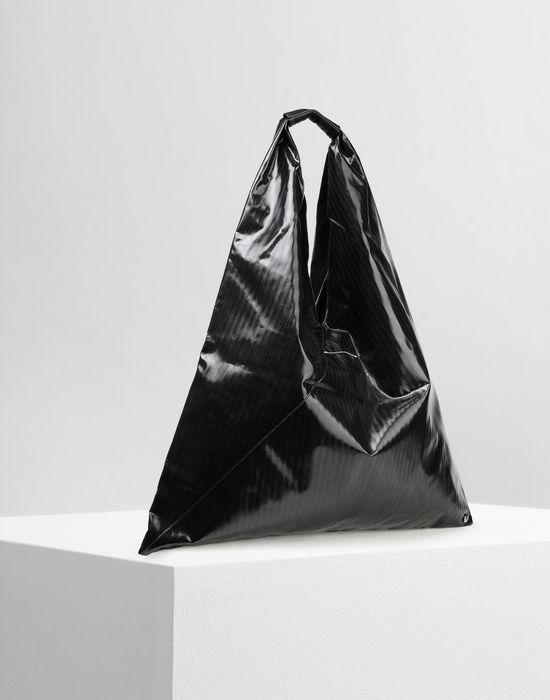 MM6 MAISON MARGIELA Japanese high-shine striped bag Handbag [*** pickupInStoreShipping_info ***] r