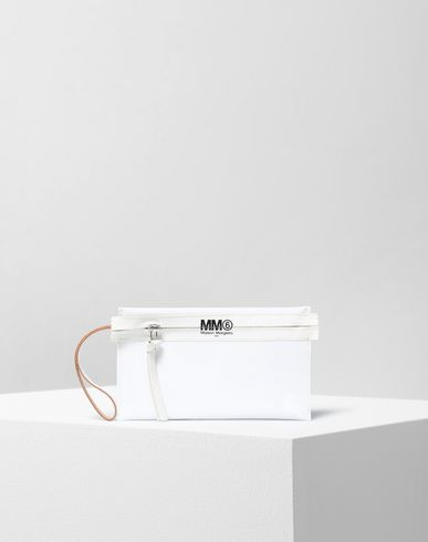 MM6 MAISON MARGIELA Clutch Woman Pochette in PVC  f