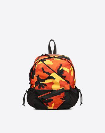 VALENTINO GARAVANI UOMO Backpack U Camouflage rucksack f