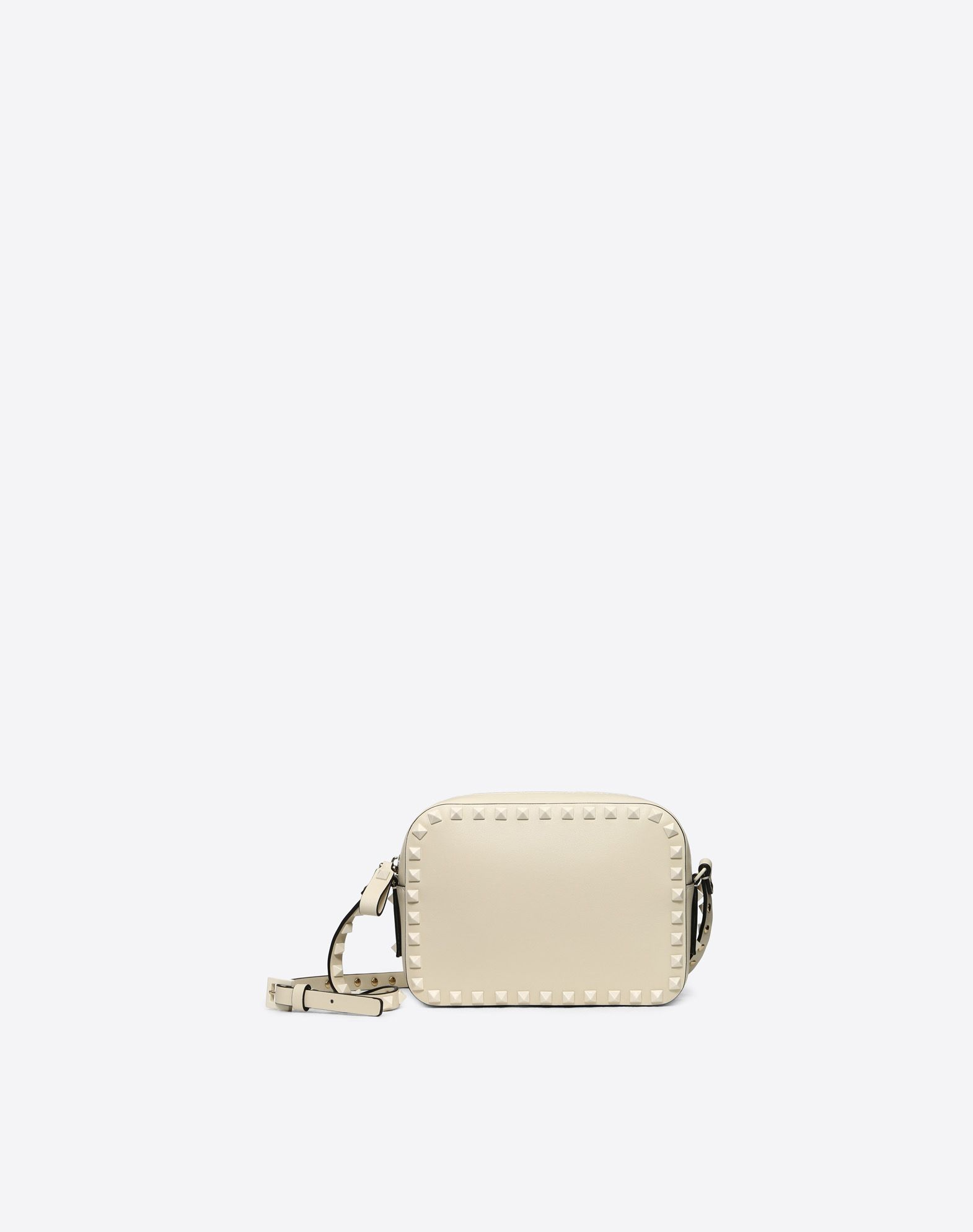 VALENTINO Studs Zip Adjustable shoulder straps Logo  45413846eo