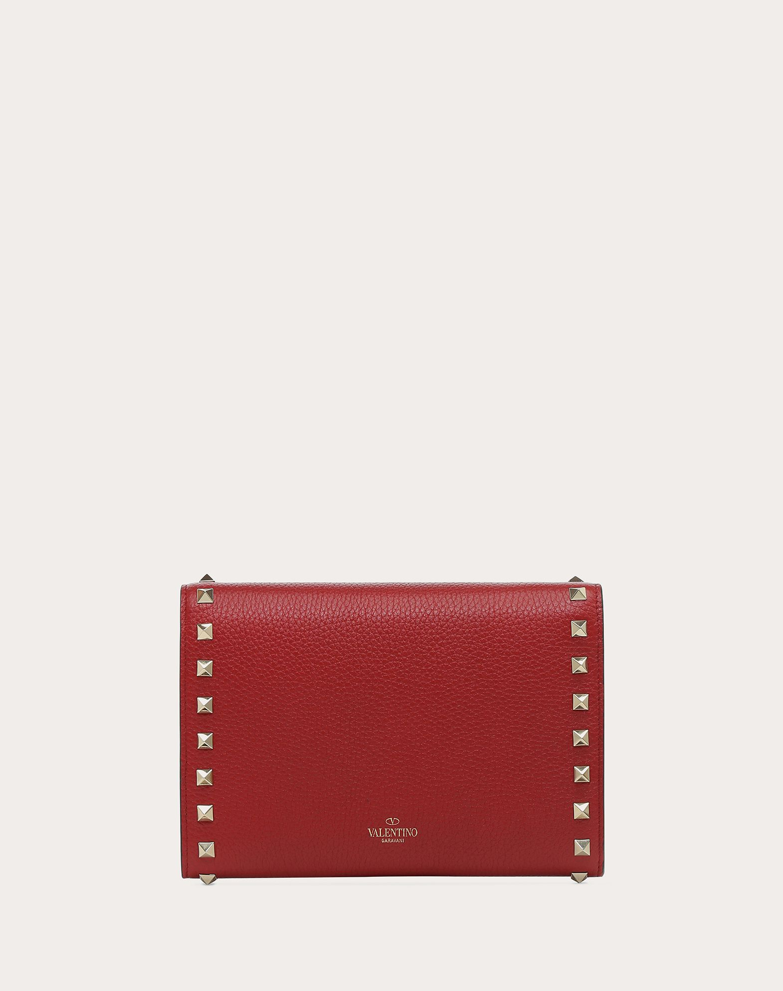 VALENTINO GARAVANI Rockstud Wallet with chain CHAIN WALLETS D d