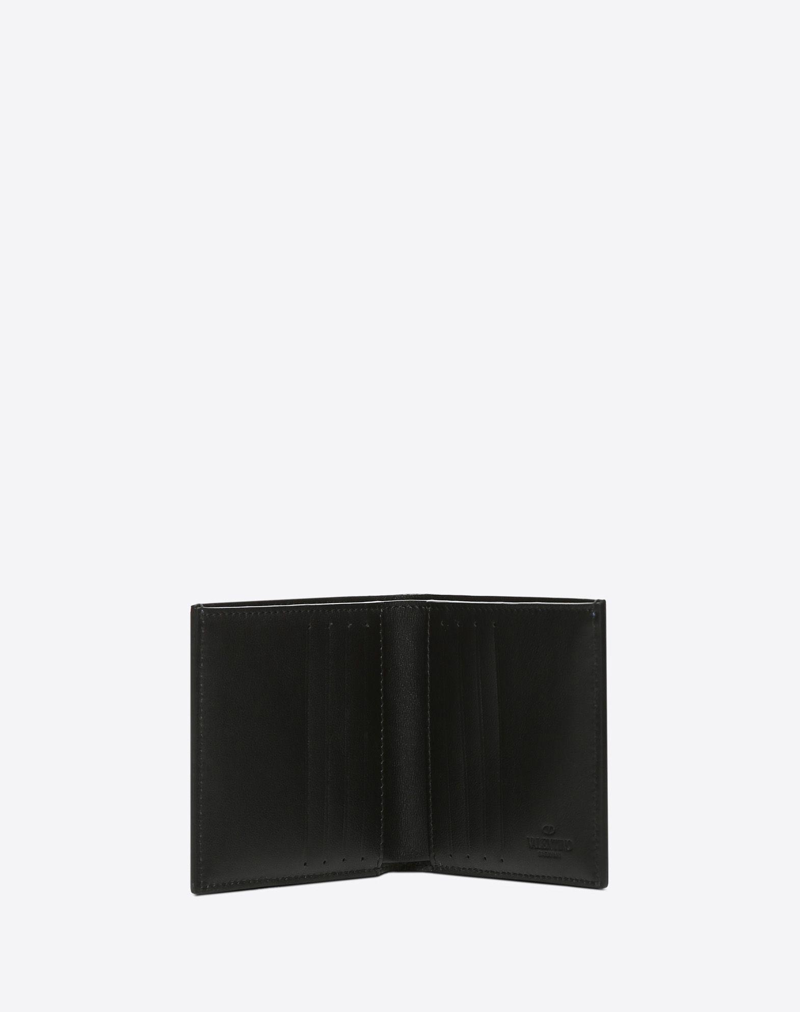 VALENTINO GARAVANI UOMO Camouflage wallet FLAP WALLETS U e