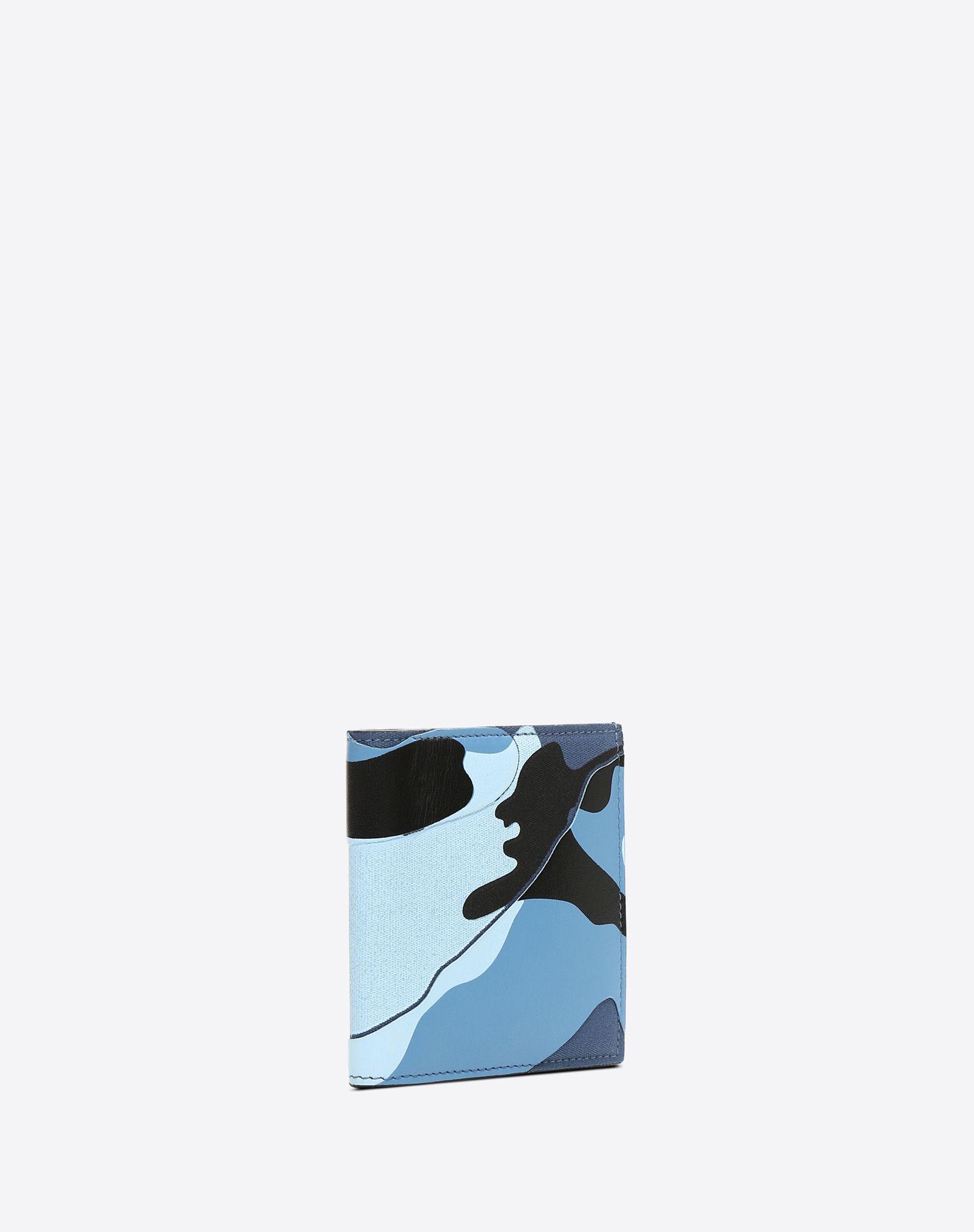 VALENTINO GARAVANI UOMO Camouflage wallet FLAP WALLETS U r