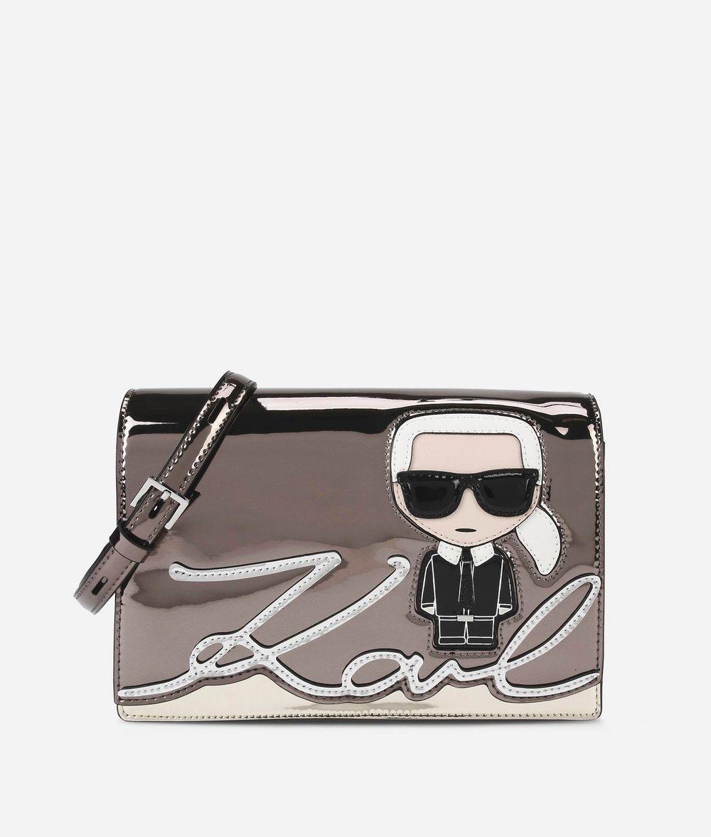KARL LAGERFELD K/Ikonik Shoulder Bag Shoulder bag Woman f