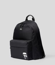 KARL LAGERFELD K/Ikonik Nylon and Leather Backpack 9_f