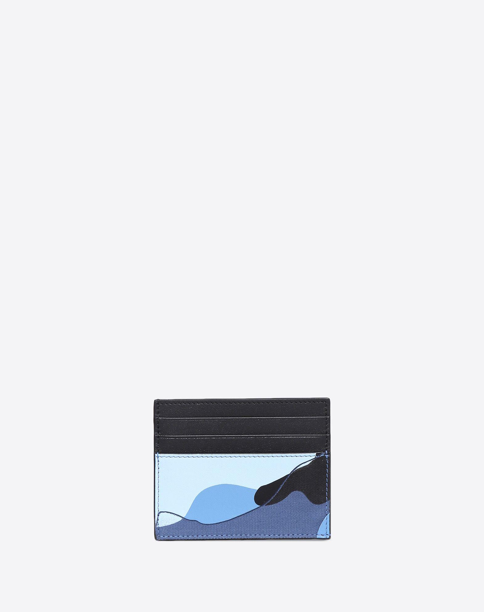 VALENTINO Logo Camouflage External pockets Internal card slots Canvas  45414150pc