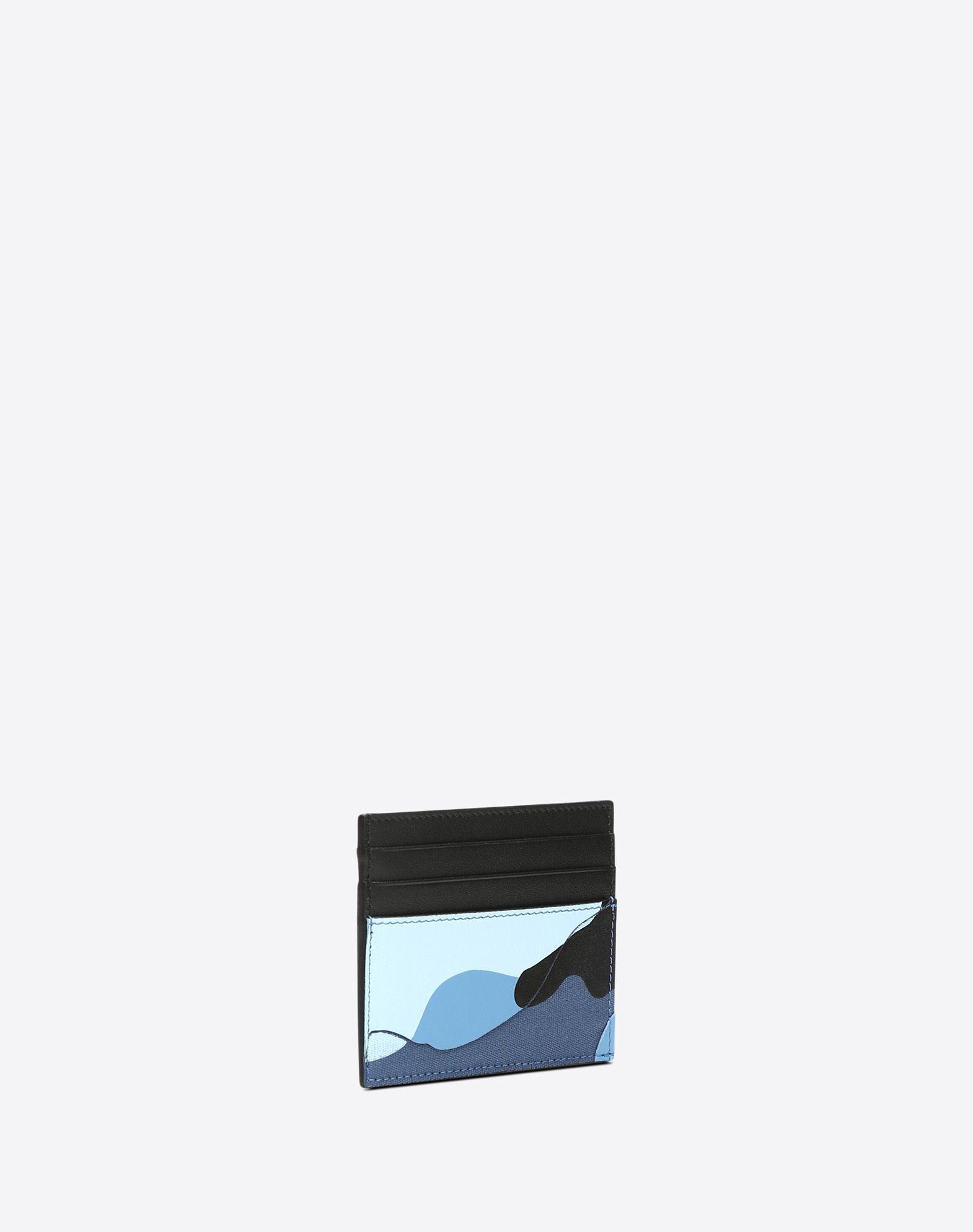 VALENTINO GARAVANI UOMO Camouflage card holder COIN PURSES & CARD CASES U r