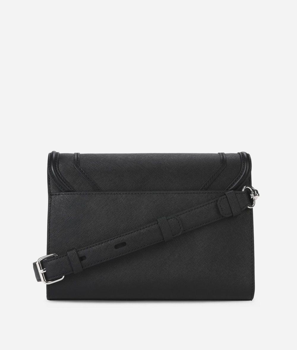 KARL LAGERFELD K/Rocky Leather Shoulder Bag Handbag Woman d