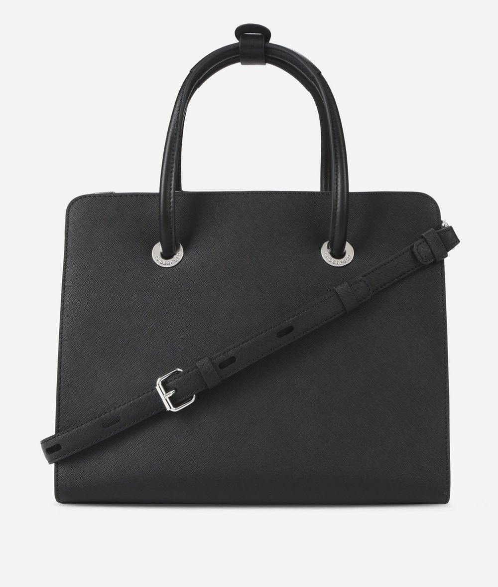 KARL LAGERFELD K/Rocky Leather Tote Bag Tote Woman d