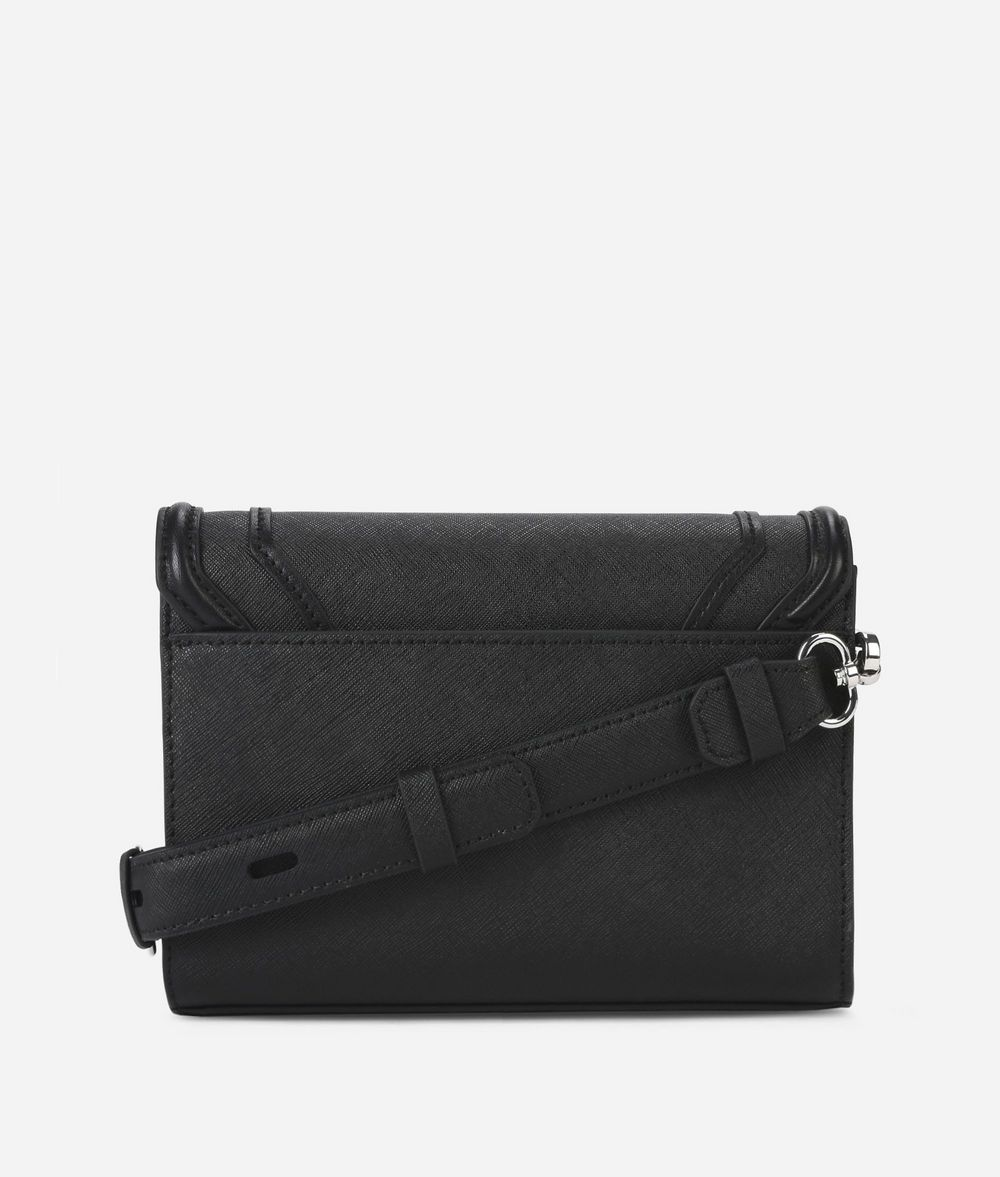 KARL LAGERFELD K/Rocky mini-sac bandoulière en cuir Sac à main Femme d