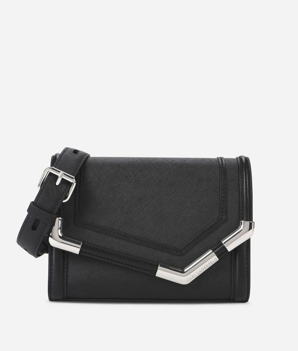 KARL LAGERFELD K/Rocky mini-sac bandoulière en cuir Sac à main Femme f