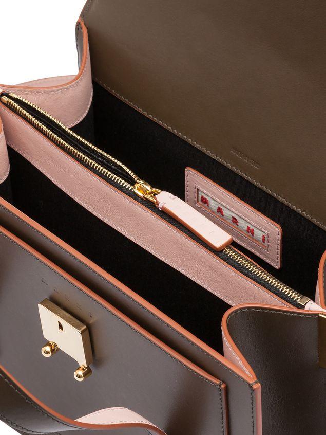 MARNI Handbag Woman TRUNK handbag with shoulder strap in two-color calfskin  d 6dea71391231a