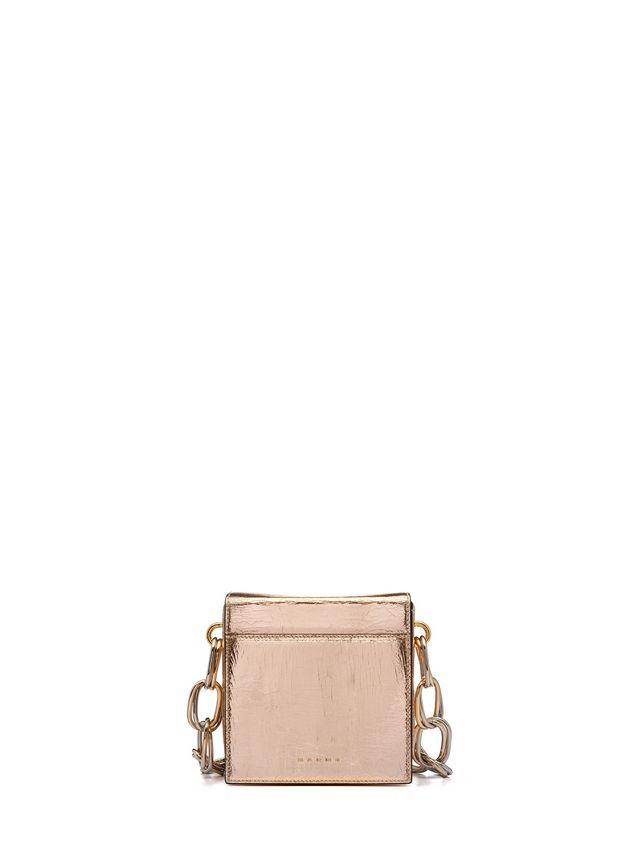 Marni CADDY bag in cracklé calfskin Woman