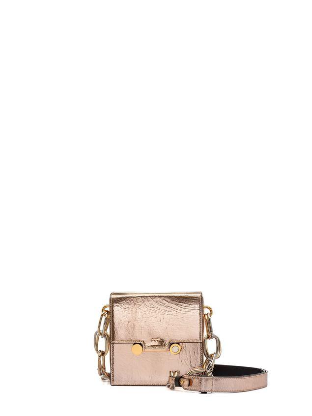 Marni CADDY bag in cracklé calfskin Woman - 1