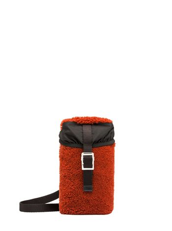 Marni Sheepskin shoulder bag Man