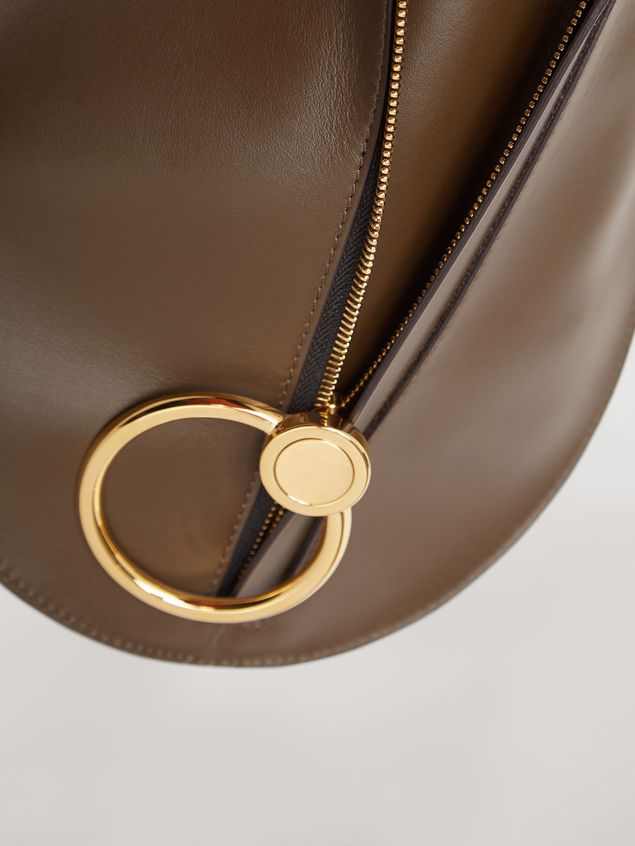 Marni Tasche EARRING aus braunem Kalbsleder Damen - 4