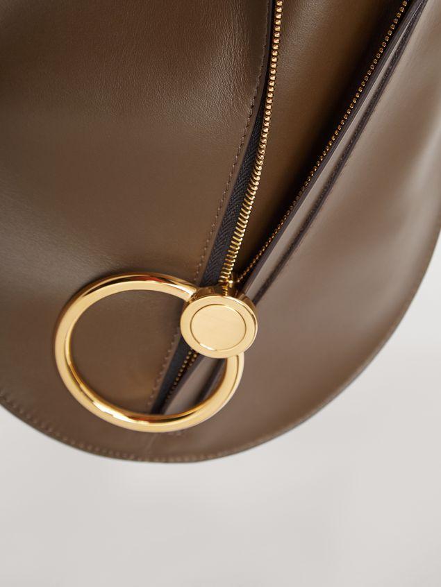 Marni EARRING calfskin bag brown Woman - 4