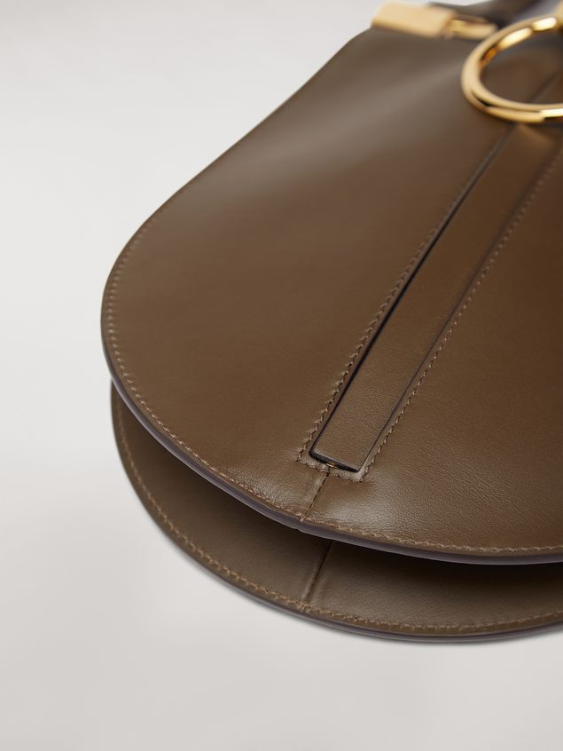 Marni EARRING calfskin bag brown Woman - 2