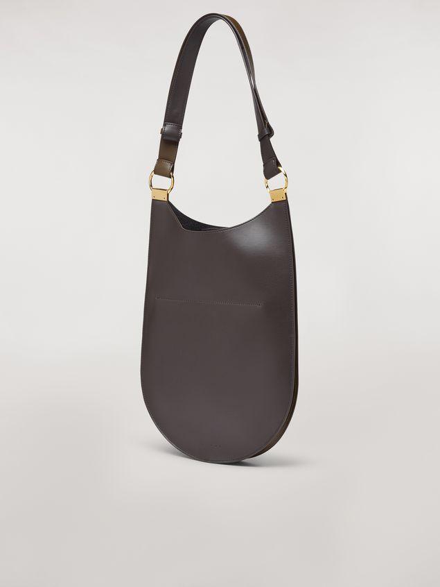Marni EARRING calfskin bag pink and brown Woman - 3