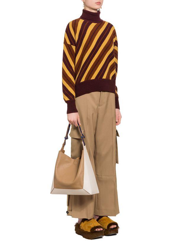Marni FRAME bag in calfskin leather Woman - 5
