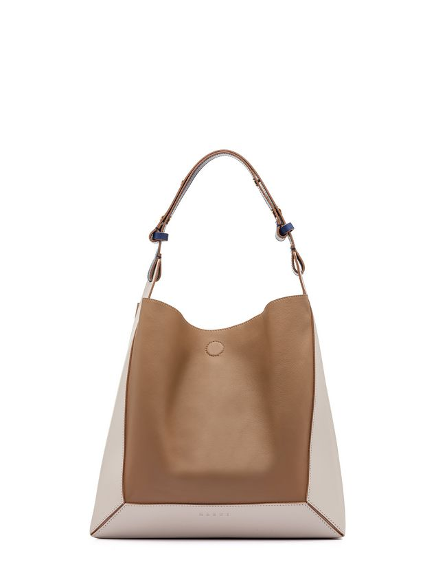 Marni FRAME bag in calfskin leather Woman - 1