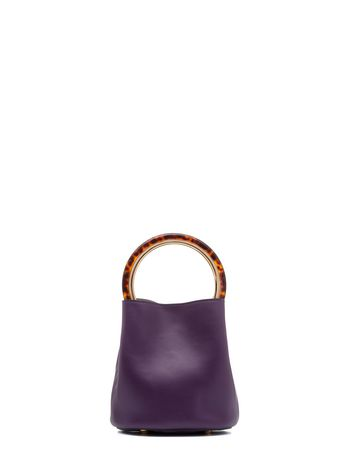 Marni PANNIER bag in leather Woman