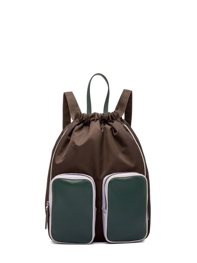 1c50b32d64 Marni Backpack in techno nylon Woman - 1 ...