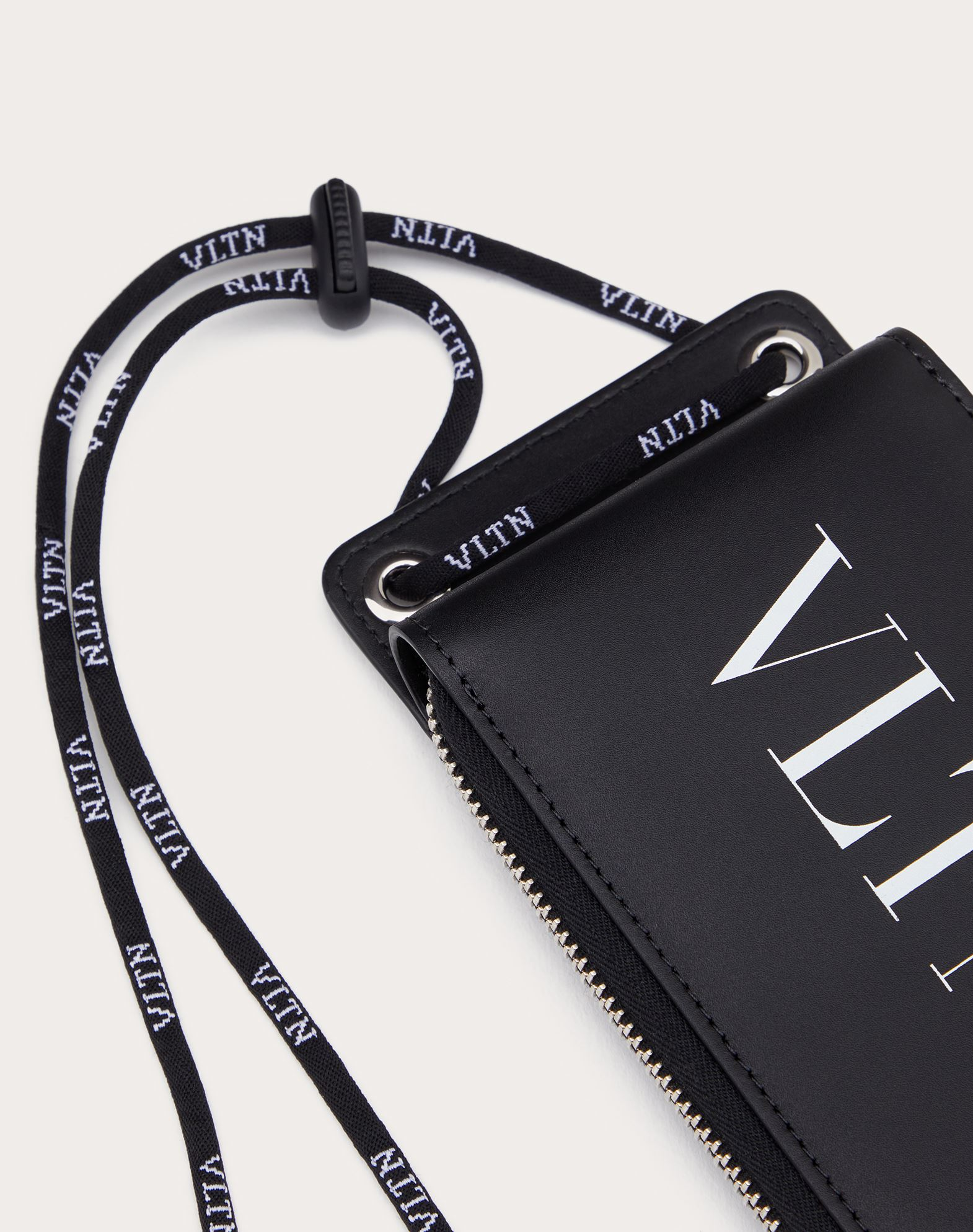 VALENTINO GARAVANI UOMO VLTN neck wallet  COIN PURSES & CARD CASES U r