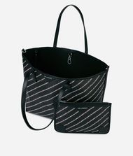 KARL LAGERFELD K/Stripe Logo Shopper 9_f