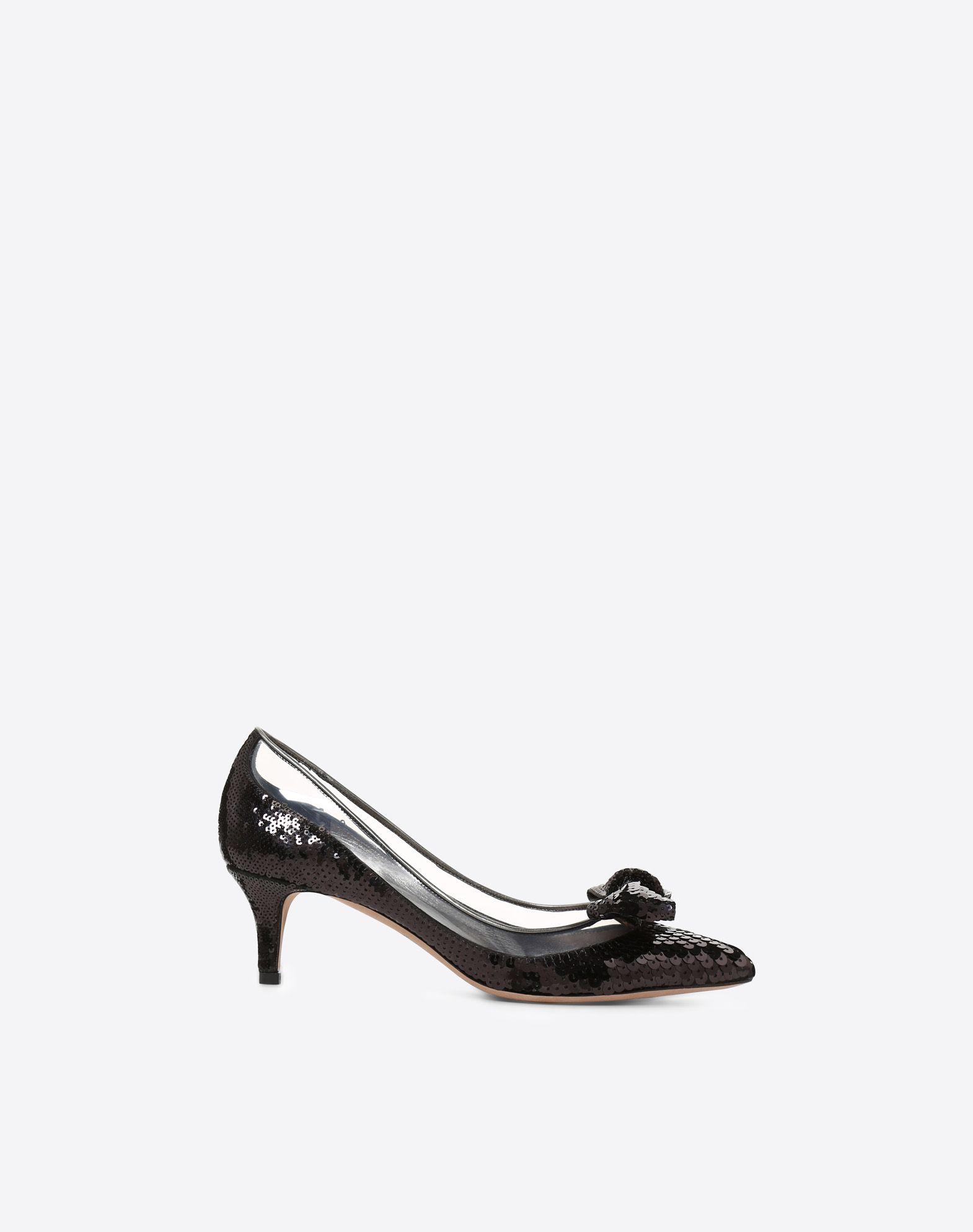VALENTINO GARAVANI Zapatos de salón Dollybow MEDIUM HEEL PUMPS D f