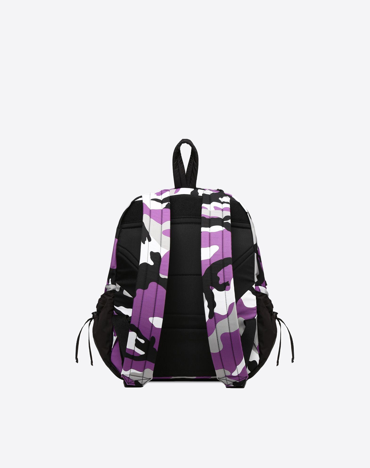 VALENTINO GARAVANI UOMO Camouflage rucksack Rucksack U d