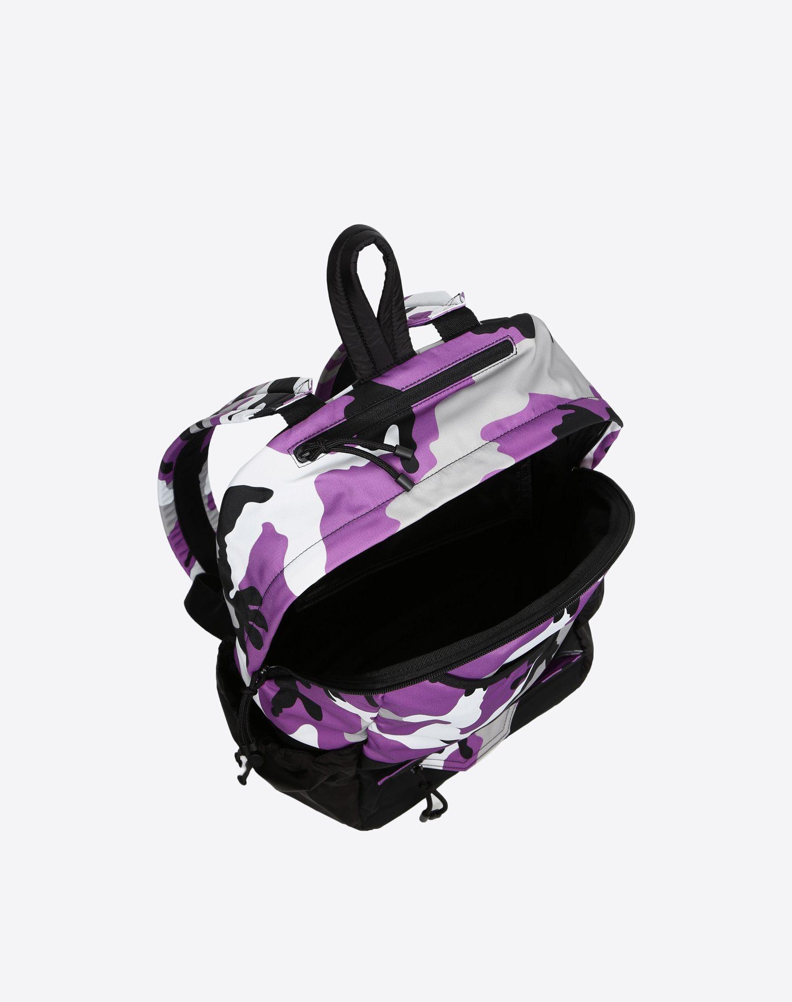 VALENTINO GARAVANI UOMO Camouflage rucksack Rucksack U e