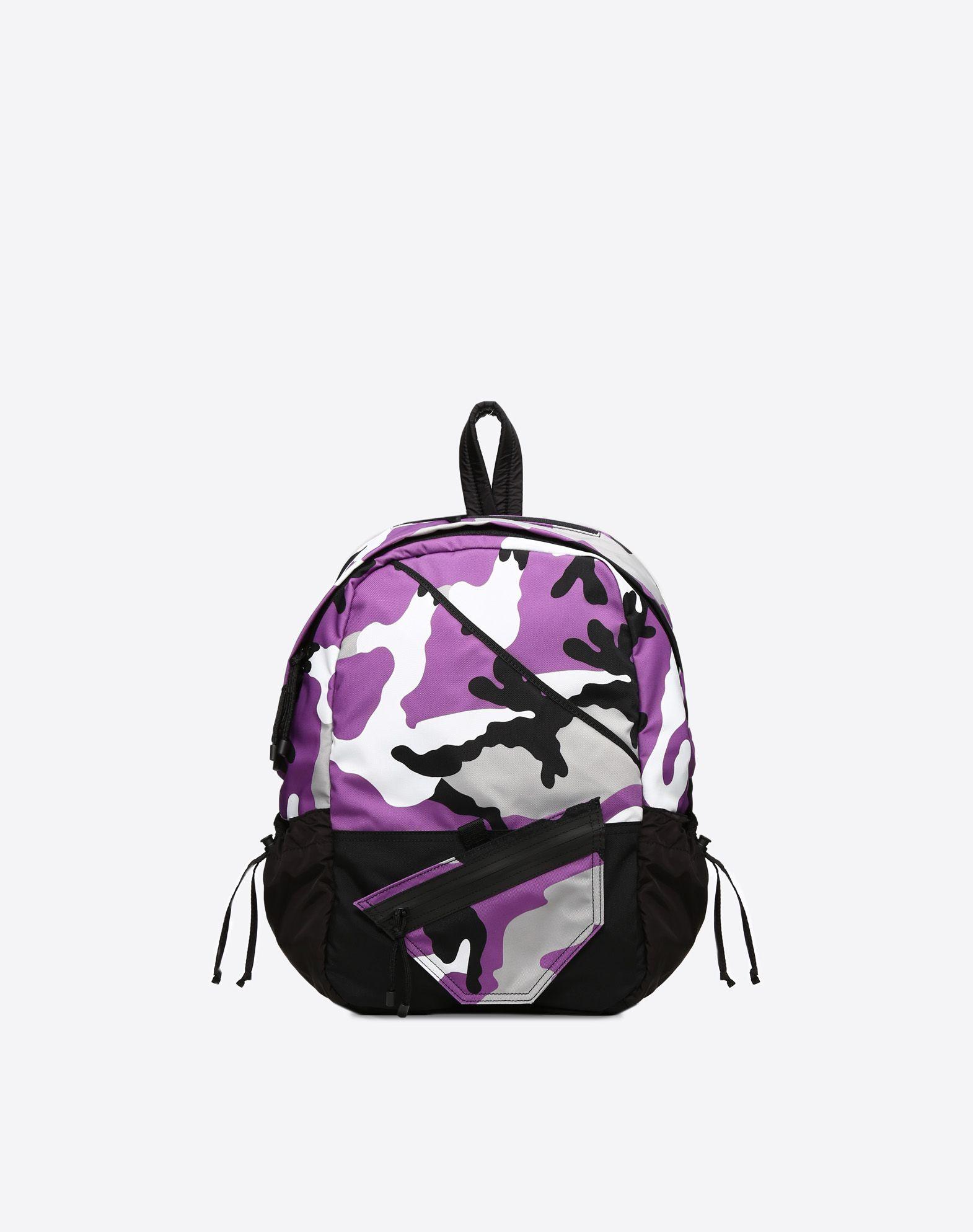 VALENTINO GARAVANI UOMO Camouflage rucksack Rucksack U f