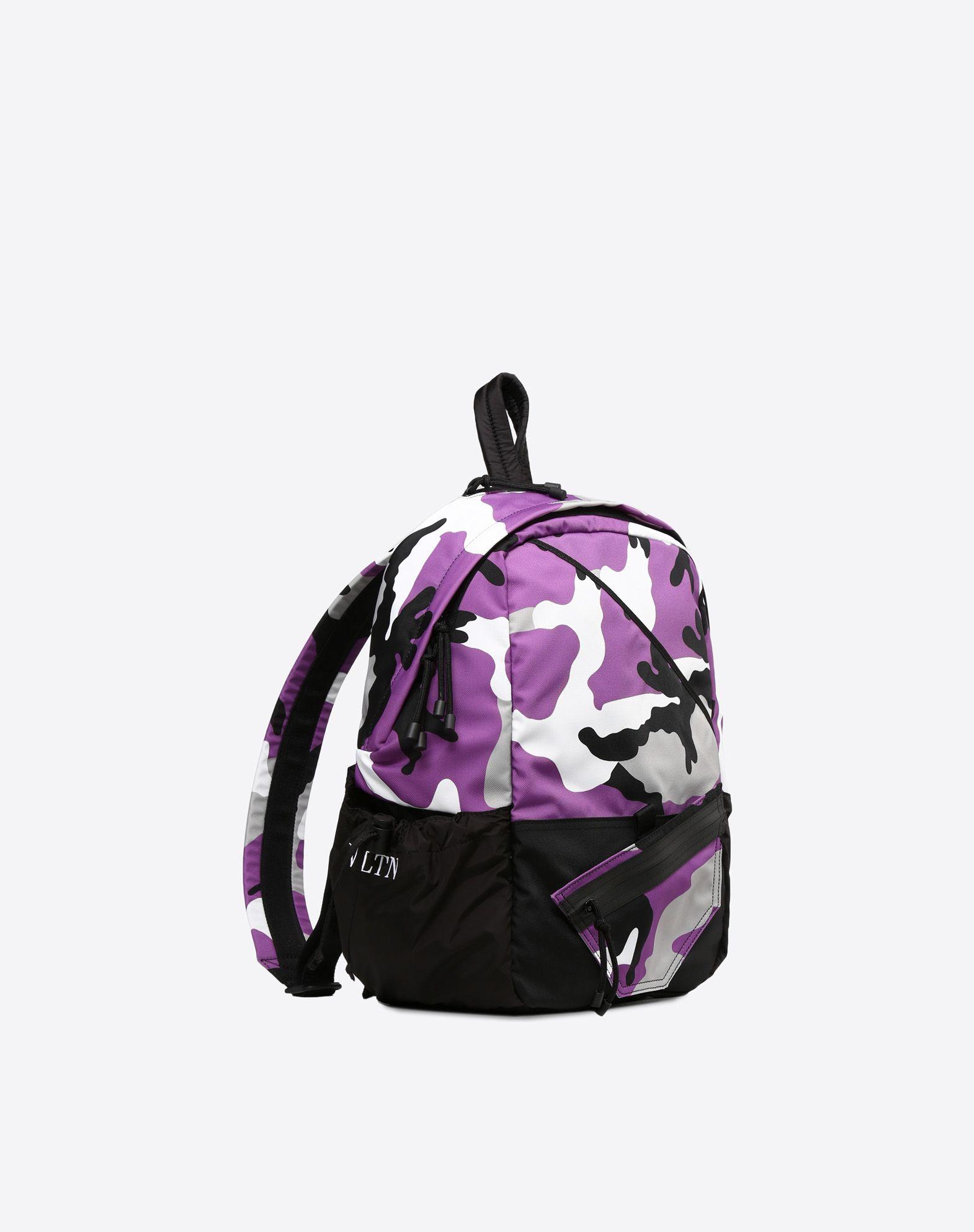 VALENTINO GARAVANI UOMO Camouflage rucksack Rucksack U r