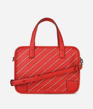 KARL LAGERFELD K/Stripe Logo Bowling Bag 9_f