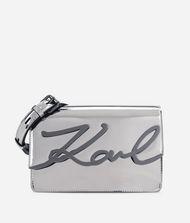 KARL LAGERFELD K/Signature Gloss Shoulder Bag 9_f