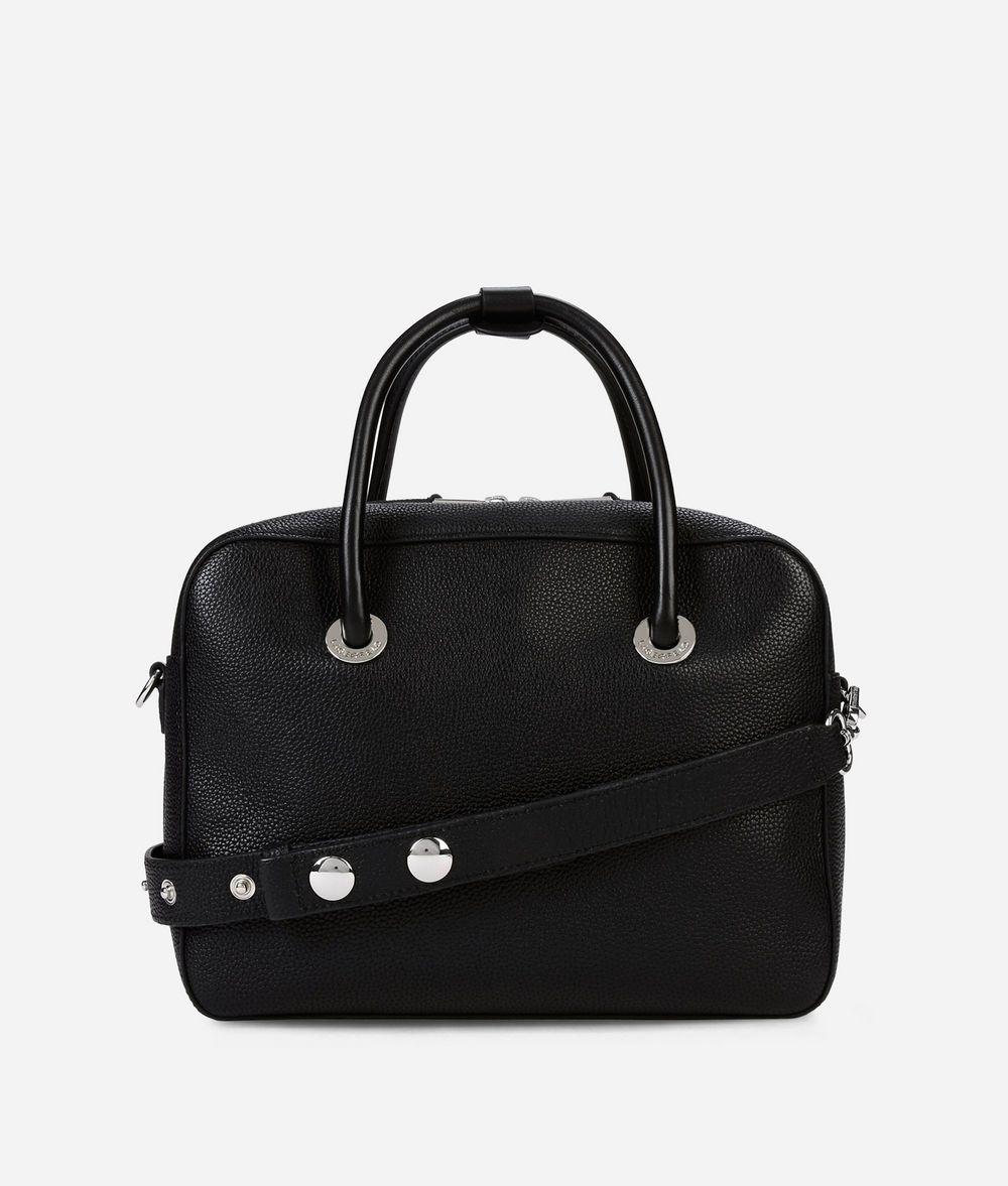 KARL LAGERFELD K/Snaps Leather Bowling Bag Bowling bag Woman d