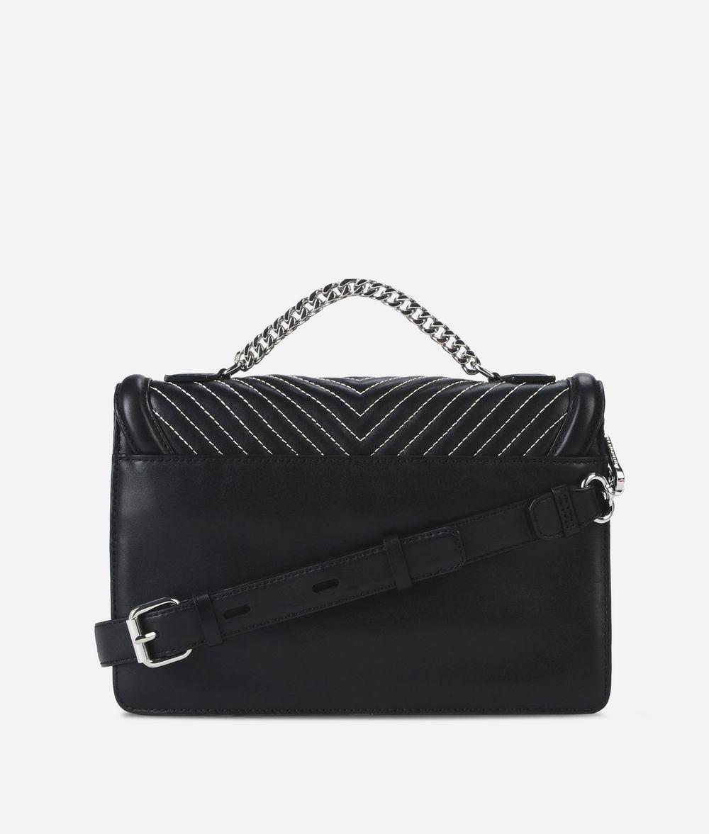 KARL LAGERFELD K/Klassik Schultertasche aus Leder mit gesteppten Details Handtasche Damen d