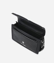 KARL LAGERFELD K/Klassik Schultertasche aus Leder mit gesteppten Details 9_f