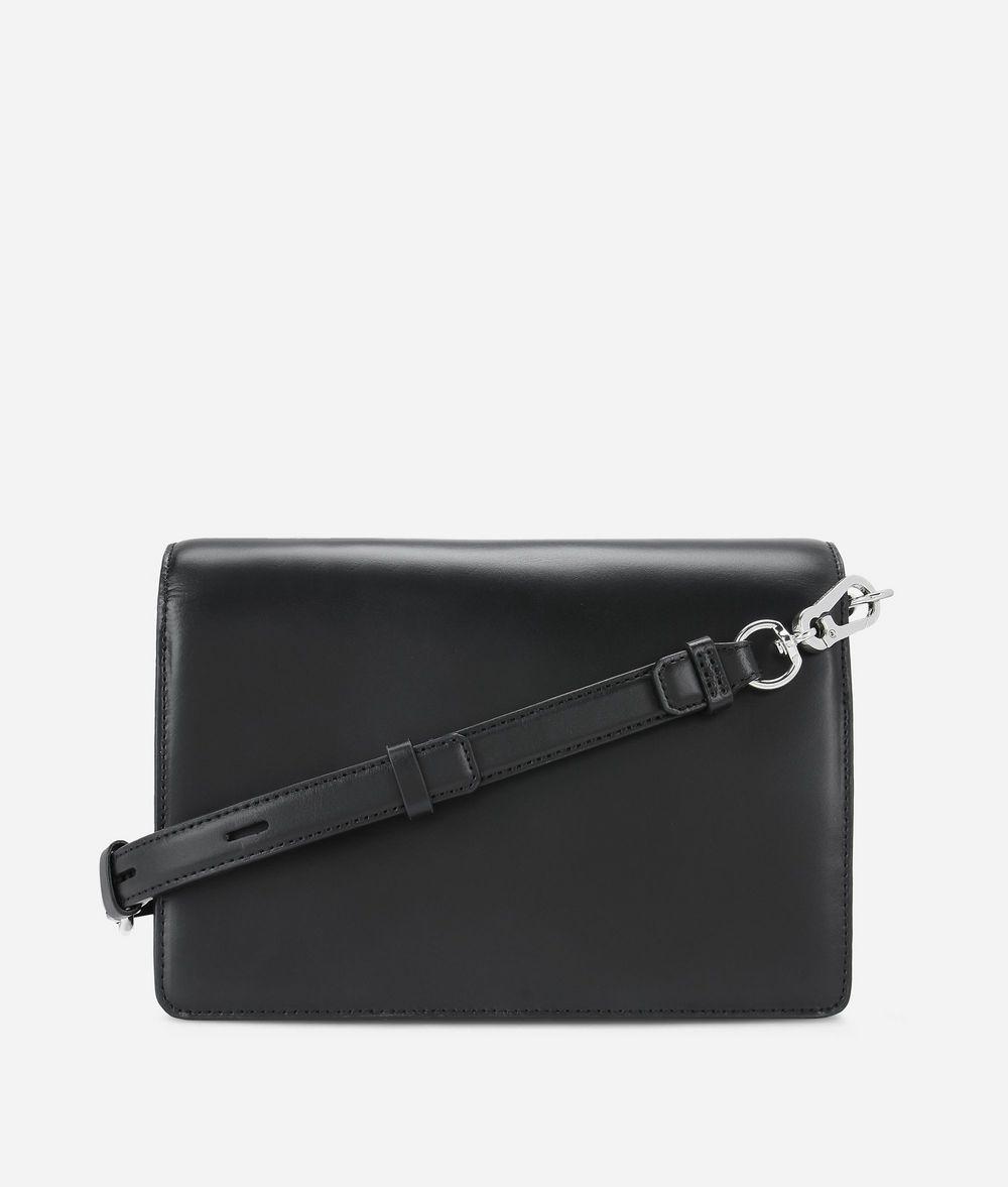 KARL LAGERFELD K/Signature Schultertasche aus Leder mit Nietendetails Handtasche Damen d