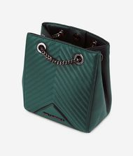 KARL LAGERFELD K/Klassik Bucket Bag aus Leder mit gesteppten Details 9_f