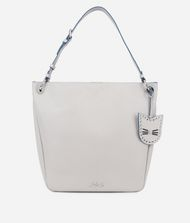 KARL LAGERFELD K/Karry All Leather Hobo Bag 9_f