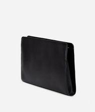 KARL LAGERFELD K/Klassik Pochette aus Leder mit gesteppten Details 9_f