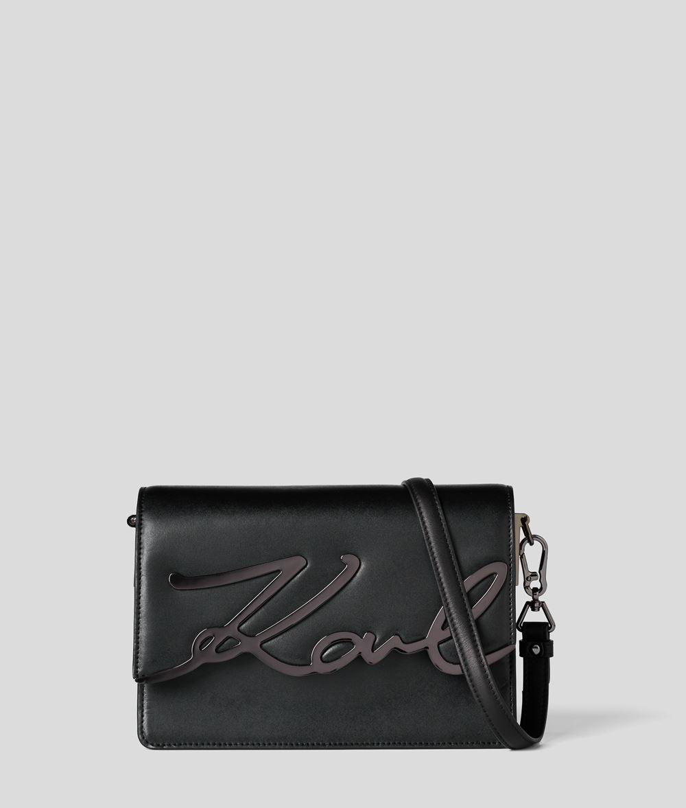 KARL LAGERFELD K/Signature Schultertasche Handtasche Damen d