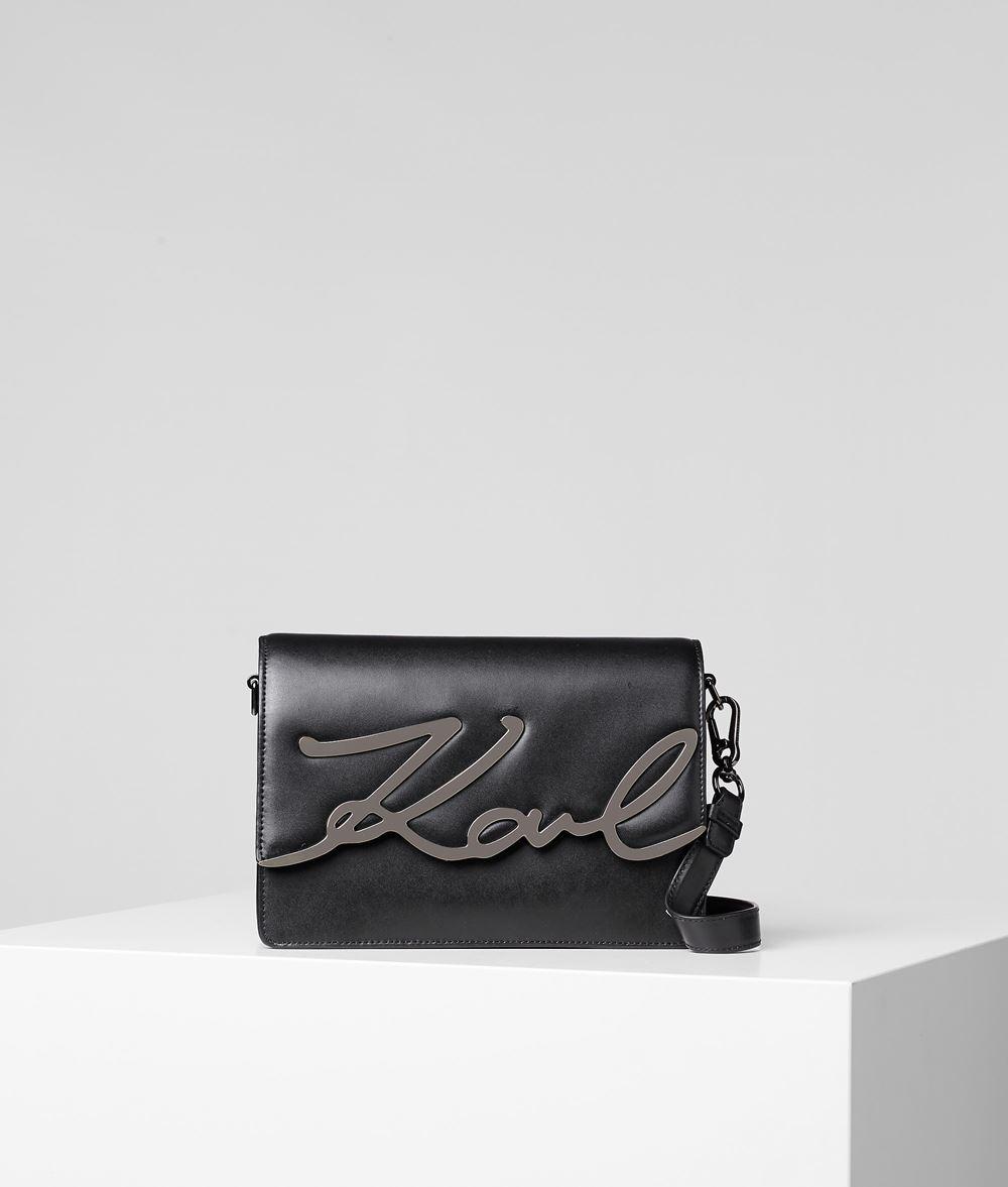 KARL LAGERFELD K/Signature Schultertasche Handtasche Damen f