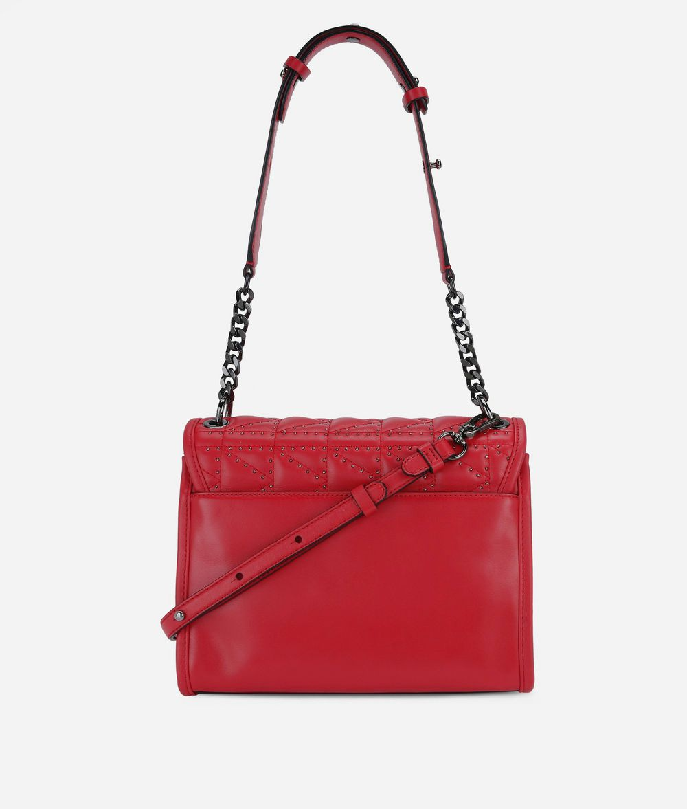 KARL LAGERFELD K/Kuilted Studs Handbag Handbag Woman d