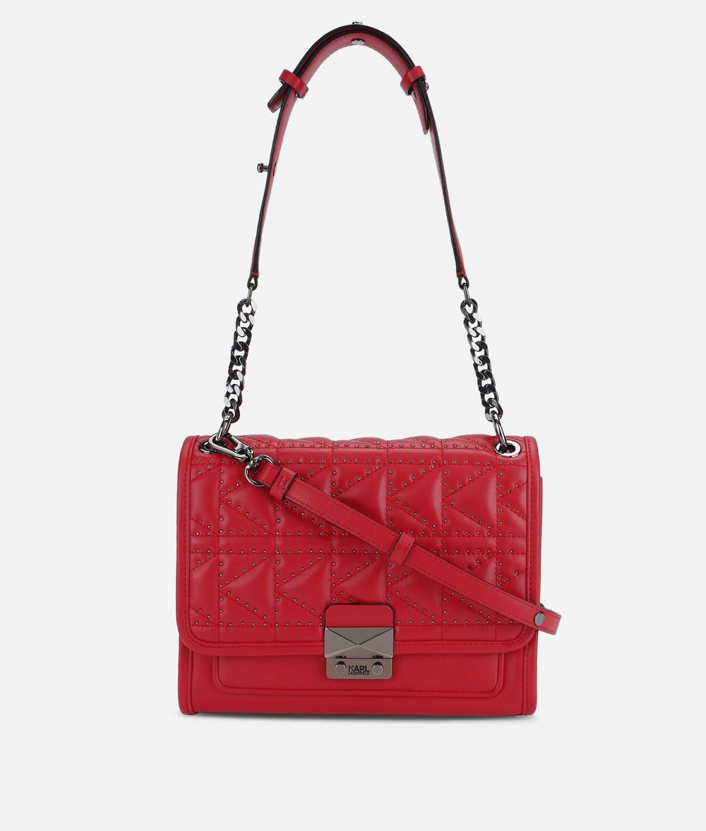 KARL LAGERFELD K/Kuilted Studs Handbag Handbag Woman f