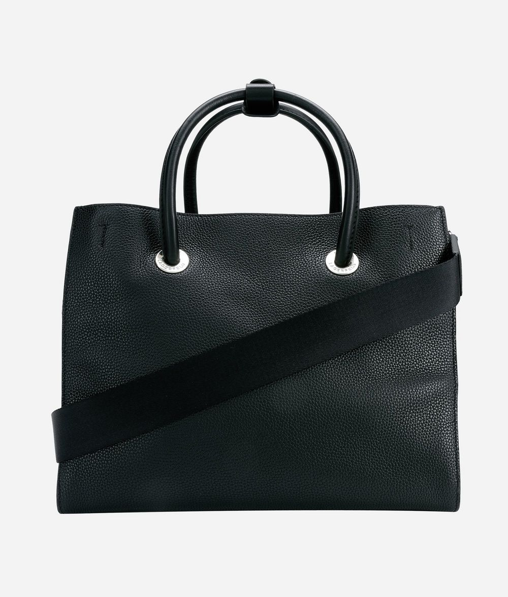 KARL LAGERFELD K/Snaps Tote Bag aus Leder Tote Bag Damen d
