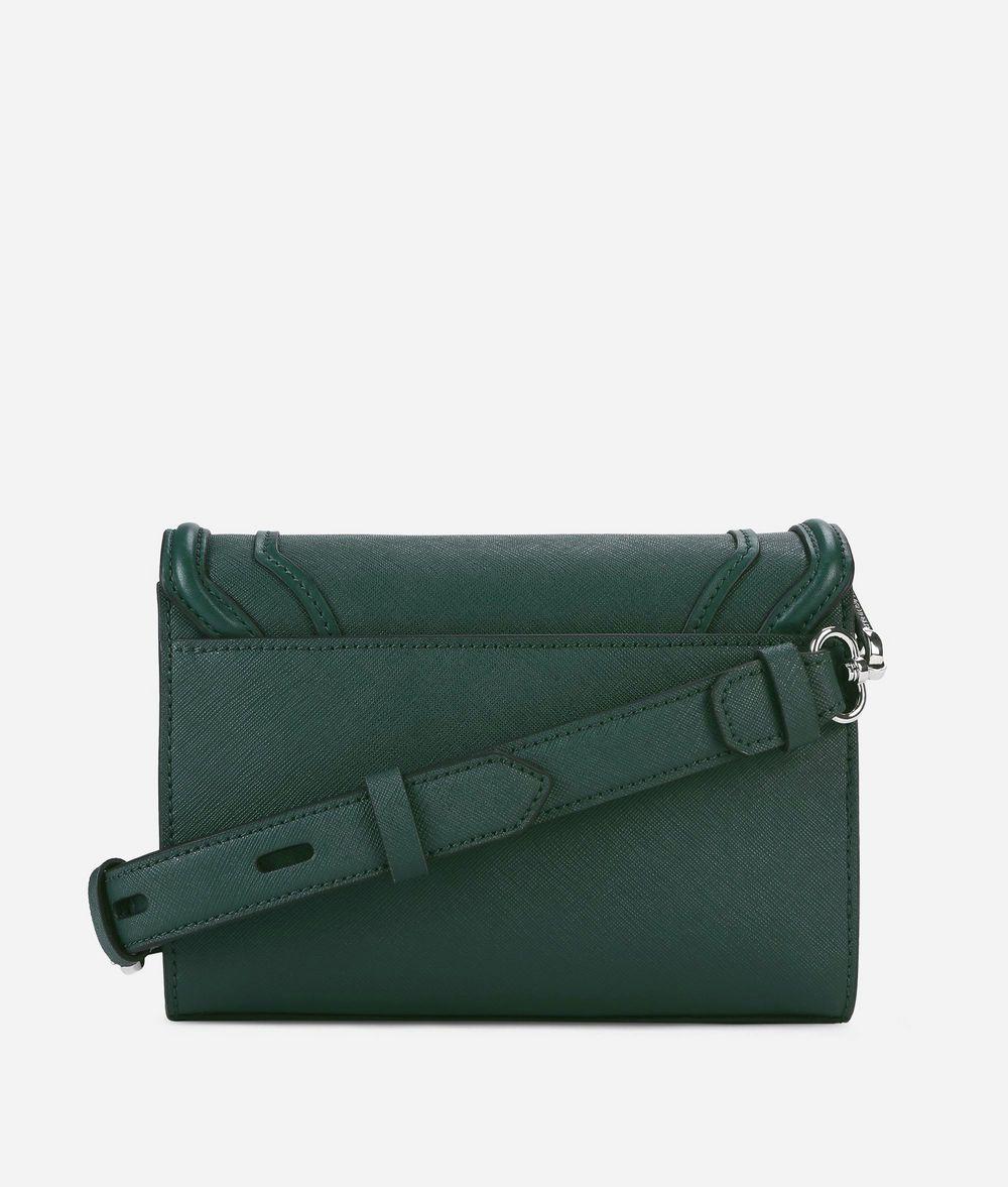 KARL LAGERFELD K/Rocky Small Leather Shoulder Bag Handbag Woman d