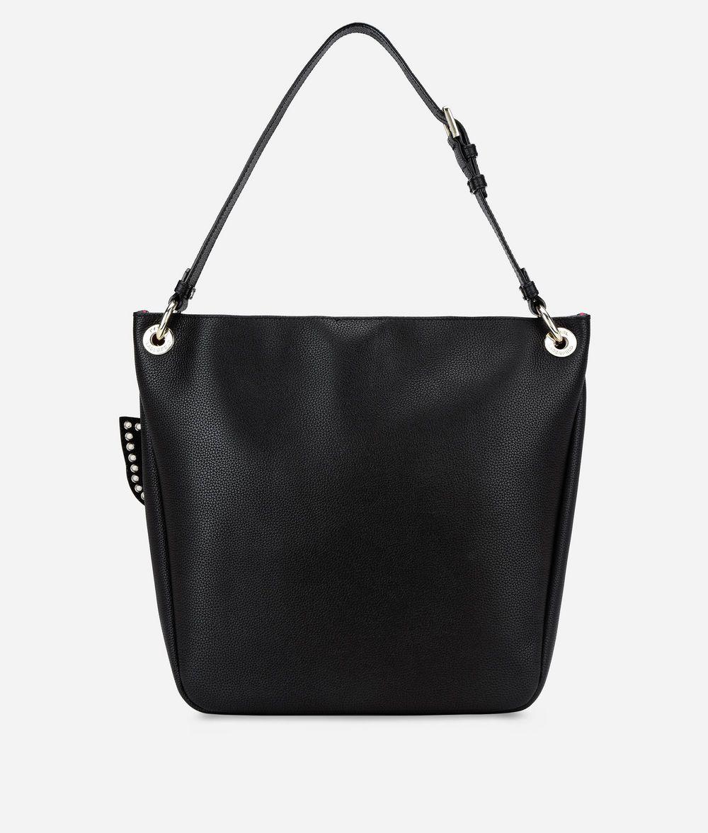 KARL LAGERFELD K/Karry All Leather Hobo Bag Hobo Bag Woman d